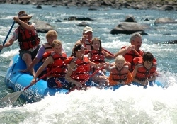 Rafting the Yellowstone